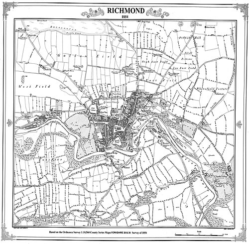 Cartography  Victorian Town and Village Maps
